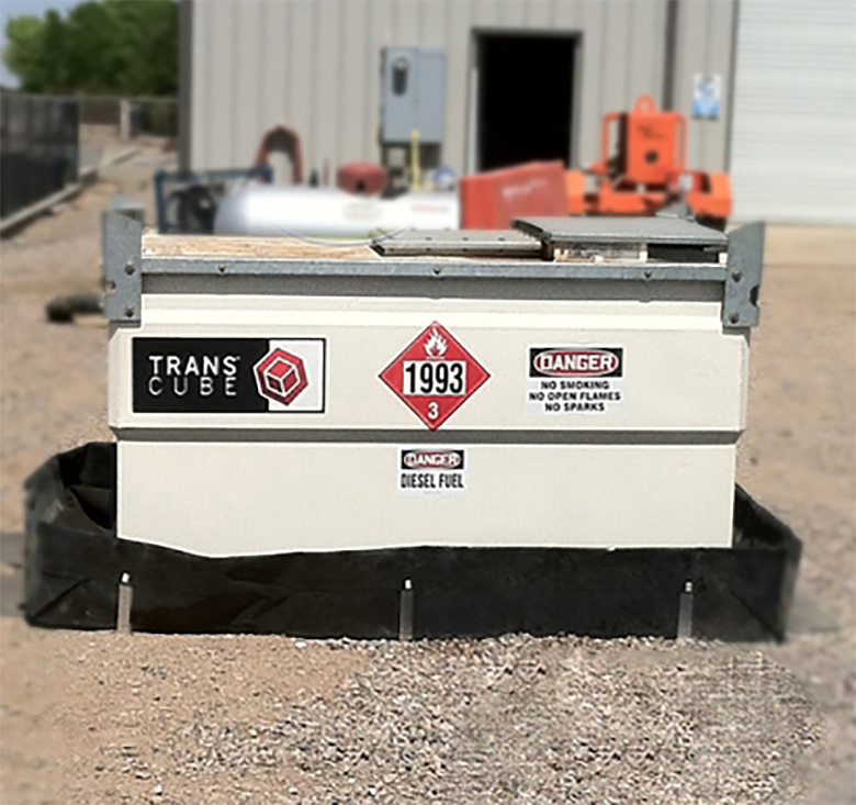 Industrial Fuel Tanks Mobile Mini