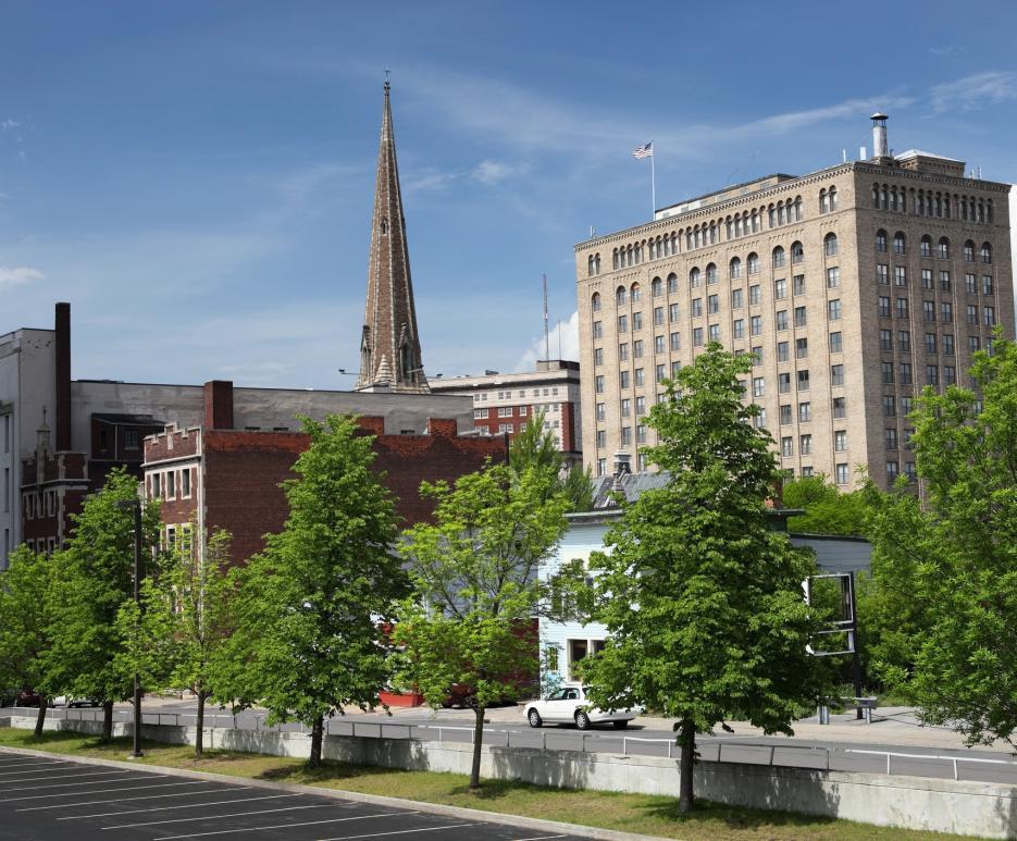 Cityscape - Utica, NY