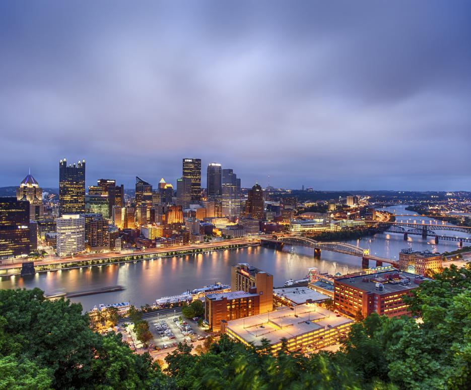 CItyscape - Pittsburgh, PA