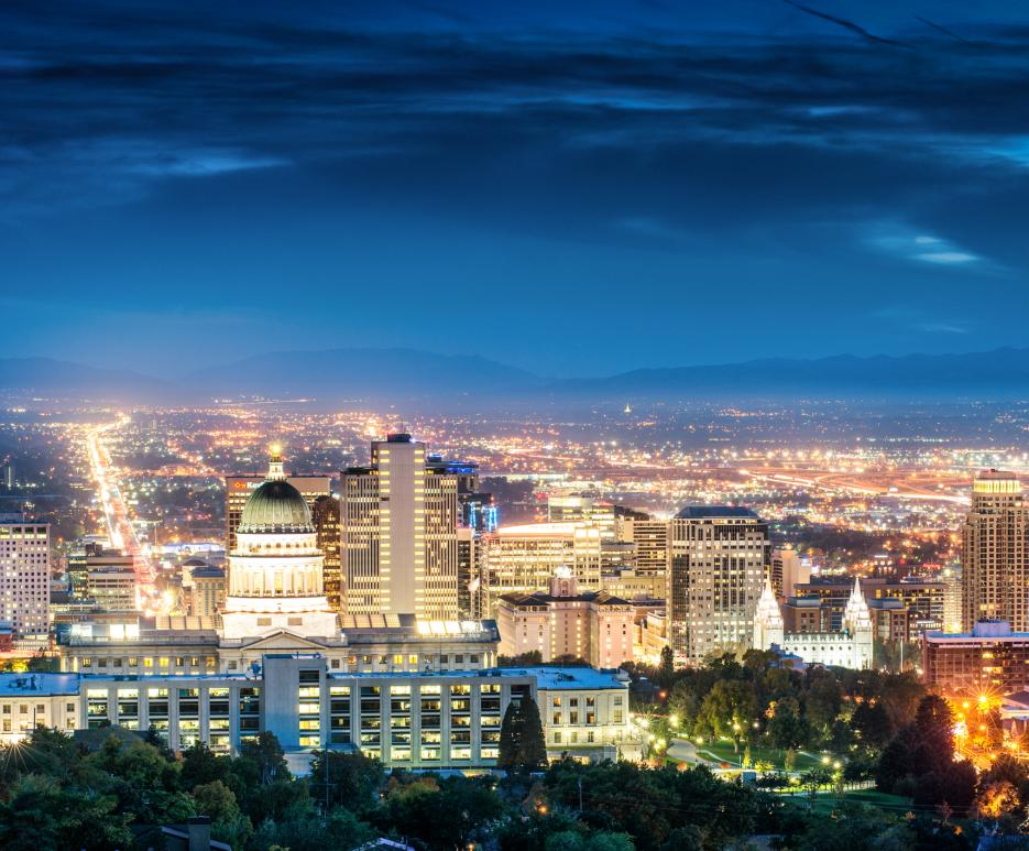 Cityscape - Salt Lake City, UT