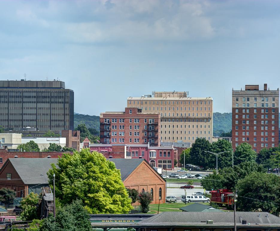 Downtown Huntsville Alabama