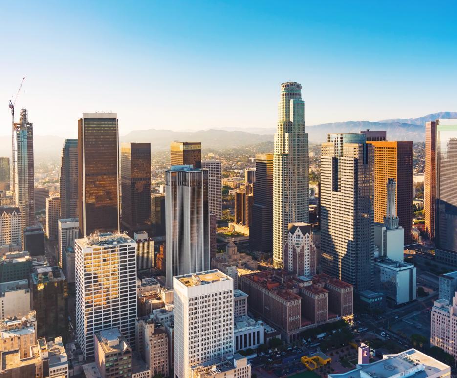 Cityscape Los Angeles, CA
