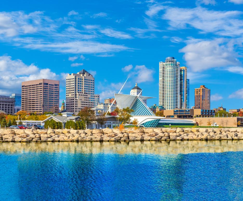 Milwaukee, WI- Cityscape