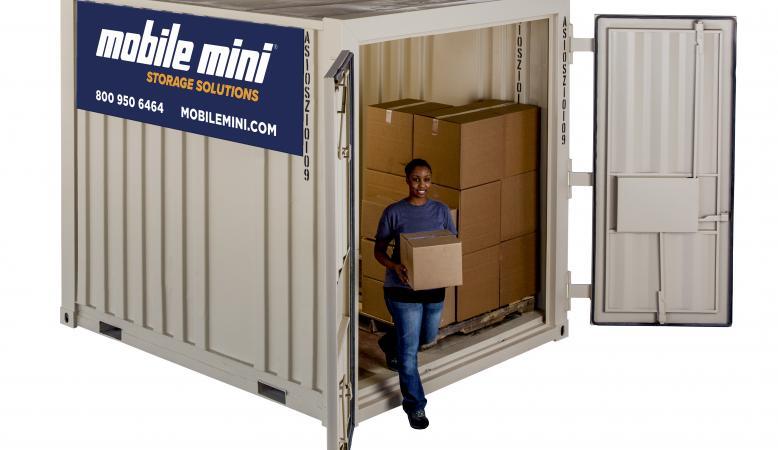 10 Standard Portable Storage Container Mobile Mini