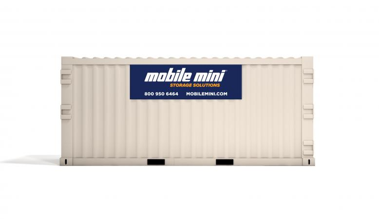 20ft Metal Container Storage Side View  sc 1 st  Mobile Mini & 20u0027 Standard Portable Storage Containers | Mobile Mini