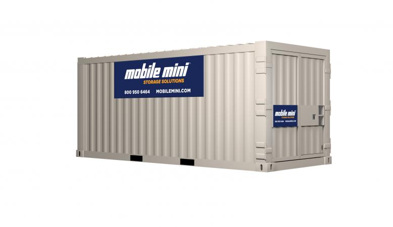 20ft Ground Storage Containers Angled View thumbnail  sc 1 st  Mobile Mini & 20u0027 Standard Portable Storage Containers | Mobile Mini