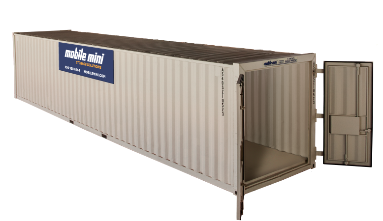40 ft mobile mini large storage containers