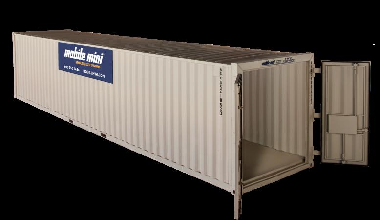 40 ft mobile mini large storage containers  sc 1 st  Mobile Mini & 40u0027 Standard Portable Storage Container | Mobile Mini