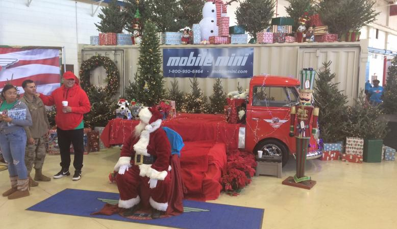 Mobile Mini Austin - Santa's workshop