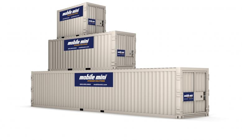 storage containers stacked. At Mobile Mini ...  sc 1 st  Mobile Mini & Storage u0026 Ground-Level Office FAQs