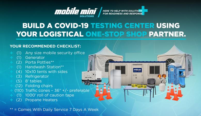 Build Your COVID-19 Testing Center