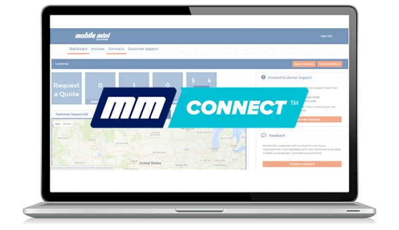MM connect home page
