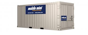 Standard 8ft Wide Portable Storage Containers Mobile Mini